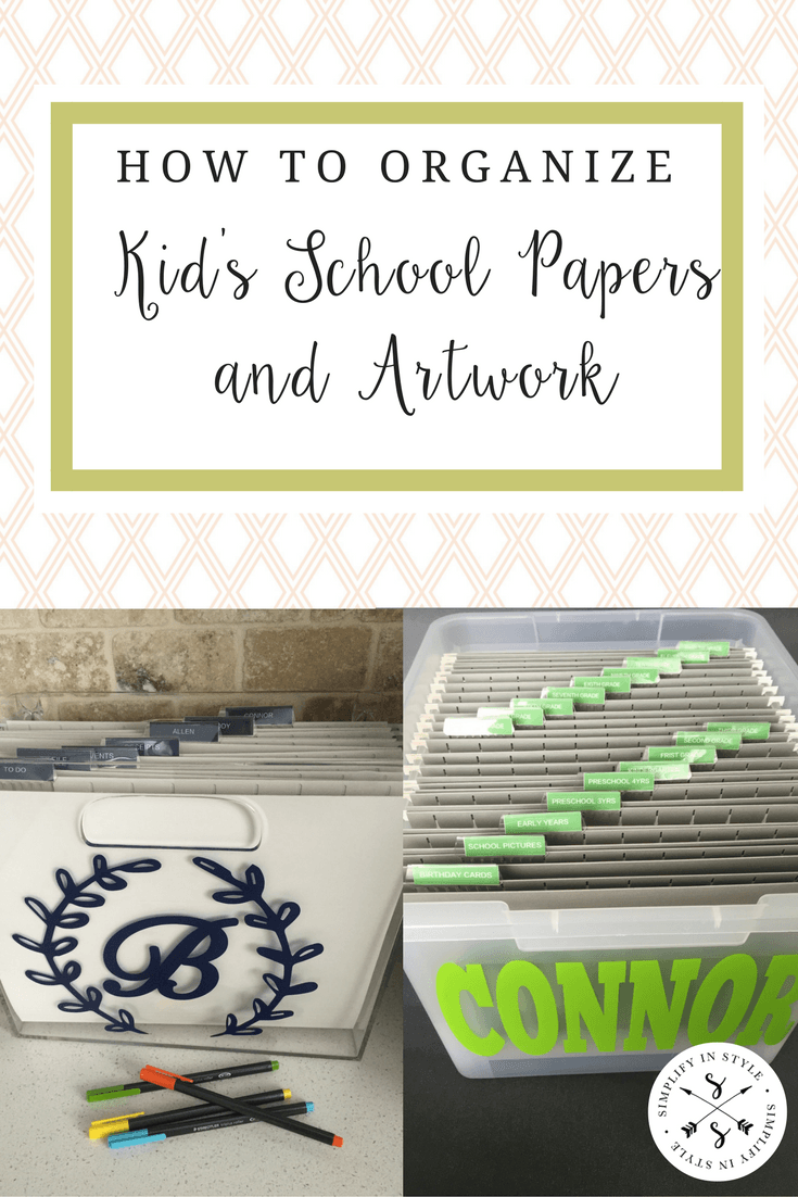 Kid's artwork and school work can pile up quickly. Organize all of the paper with these storage ideas.