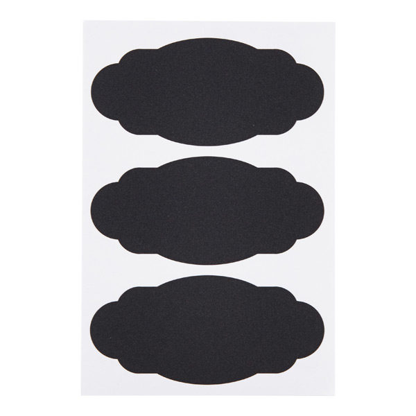 avery decorative removable chalkboard labels pkg 12 simplify in style
