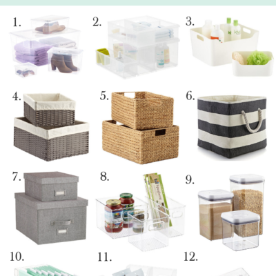 Our 12 Favorite Containers For Organizing